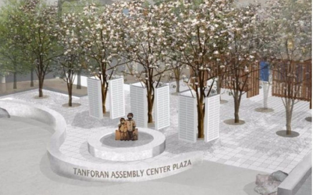 Grant for memorial at Tanforan Assembly Center