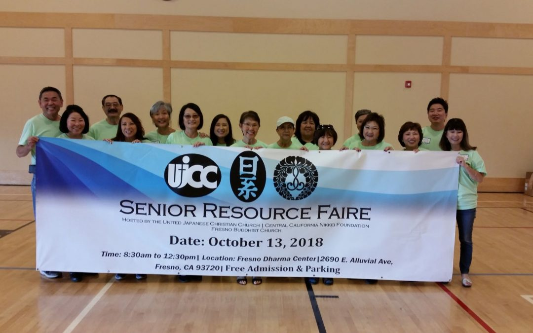 United Japanese Christian Church receives a grant for their Japanese American Senior Health Resource Program