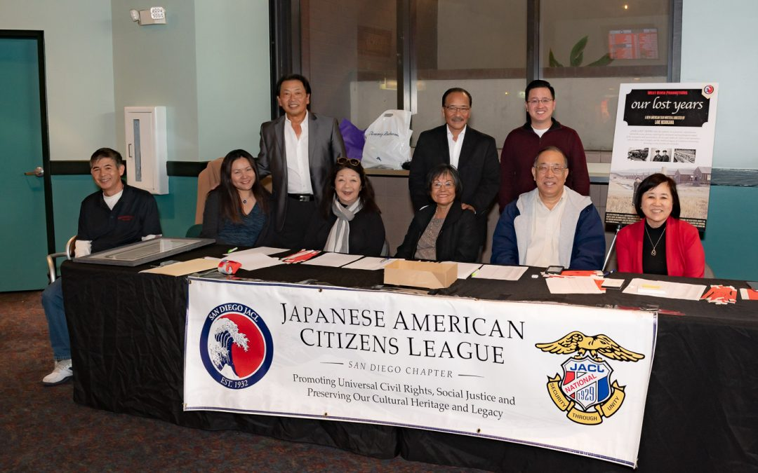 "San Diego Chapter JACL received the Grant for their project ""LEAGUE OF DREAMS"""
