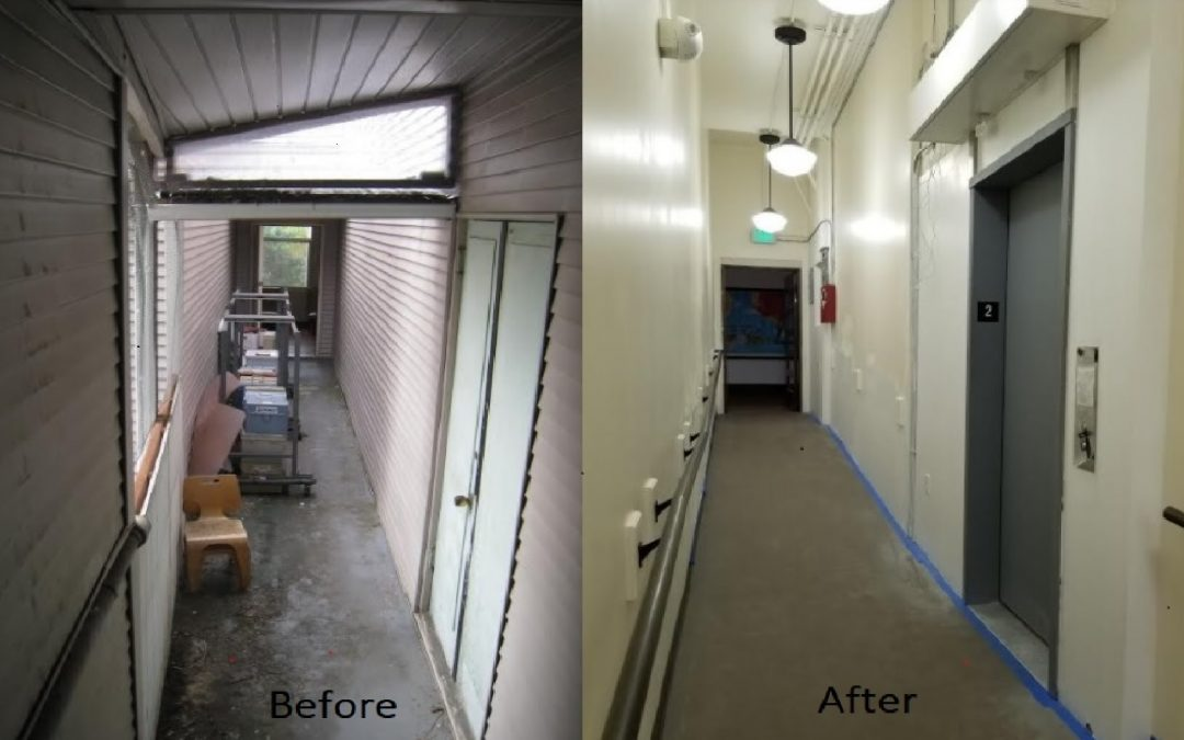 Nikkei Heritage Association of Washington received a Grant for Breezeway renovation and elevator installation